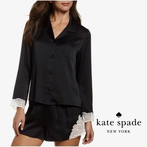 Kate Spade ♠️ Charmeuse Short Pajamas